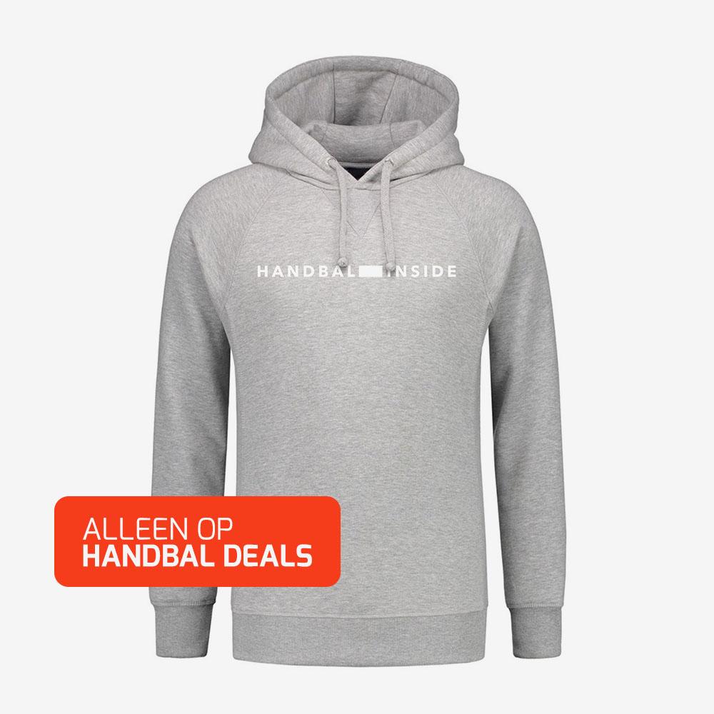 Hoodie Grijs Heren.Handbal Inside Hoodie Heren Handbaldeals Nl