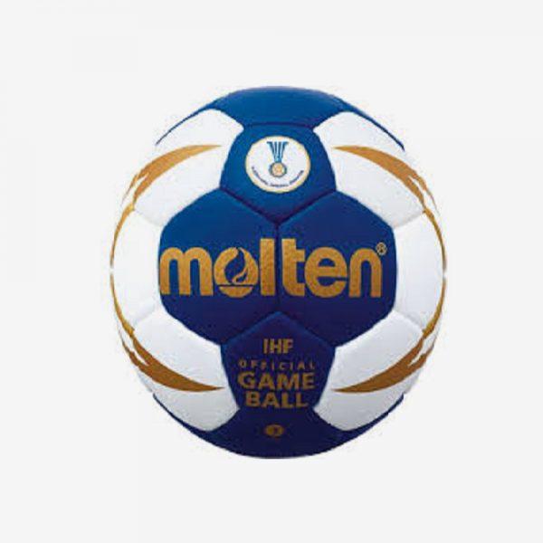 Afbeelding Molten 5000 handbal kleur blauw wit