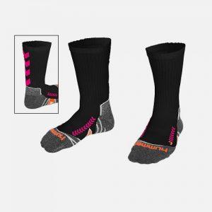 Afbeelding Hummel Chevron Sokken Zwart Roze