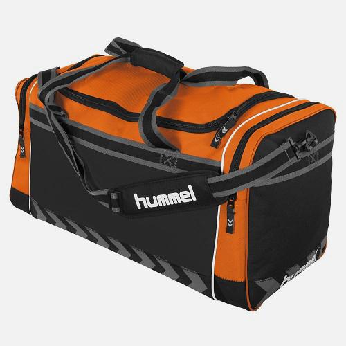 Afbeelding Hummel Leyton sporttas oranje