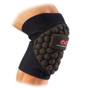 Afbeelding Mc David 670 Pro Handbal kniebeschermer zwart