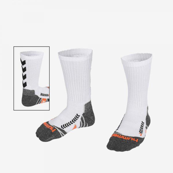 Afbeelding Hummel Chevron Sokken Wit Zwart