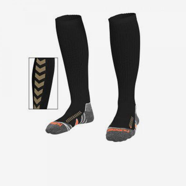 Afbeelding Hummel Chevron sportsok lang zwart