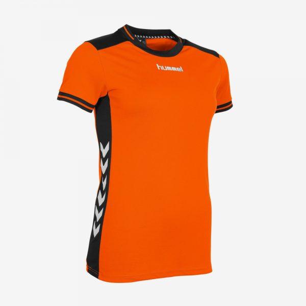 Hummel Lyon sportshirt junior oranje