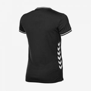 Hummel Lyon sportshirt dames zwart wit