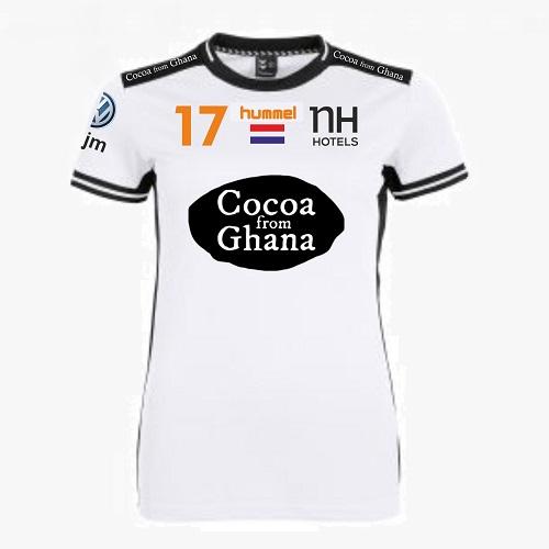 Afbeelding Hummel NHV handbaldames uit shirt wit
