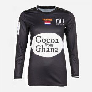Afbeelding Hummel NHV handbaldames keepershirt zwart