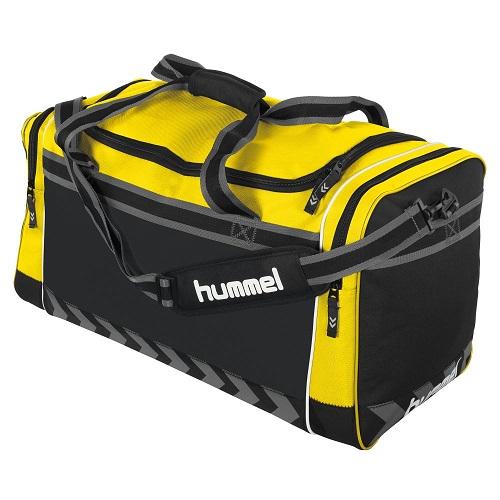 Afbeelding Hummel Leyton sporttas geel
