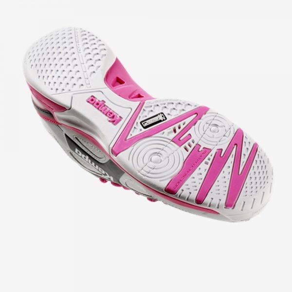 Afbeelding Kempa wing junior handbalschoen zool kleur wit roze