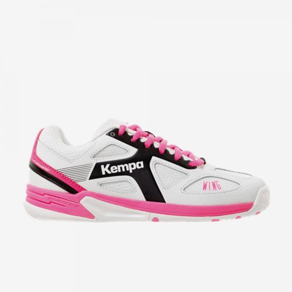 Afbeelding Kempa wing junior handbalschoen kleur wit roze