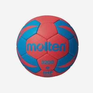 Afbeelding Molten 3200 handbal blauw rood