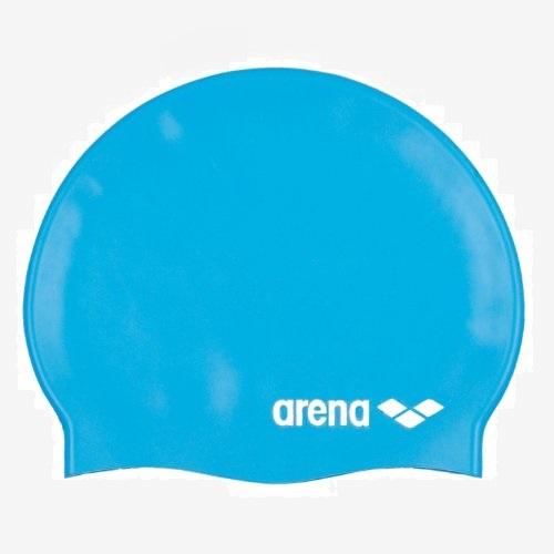 Afbeelding Arena Classic Silicone badmuts jr lichtblauw