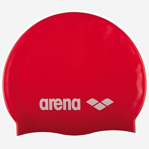 Afbeelding Arena Classic Silicone badmuts jr rood