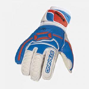 afbeelding stanno keeperhandschoenen 006 junior blauw wit
