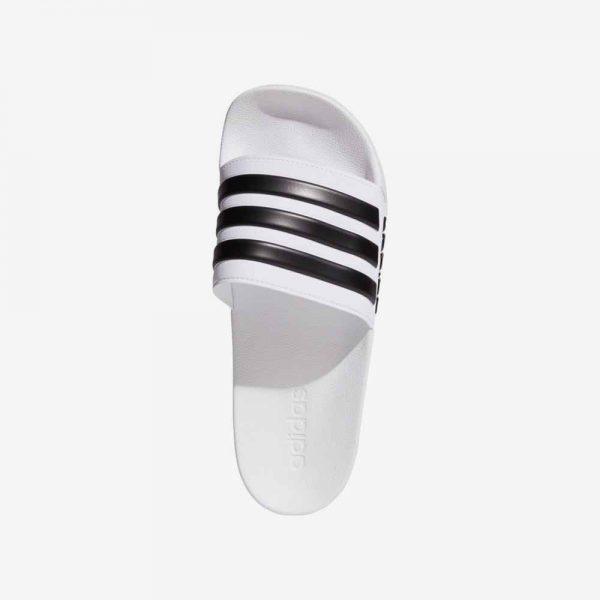Afbeelding Adidas Adilette Cloudfoam badslipper wit