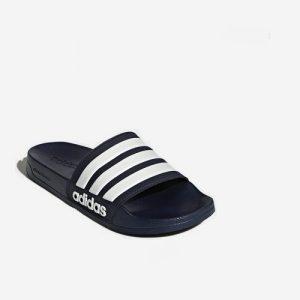 Adidas Adilette Cloudfoam badslipper blauw