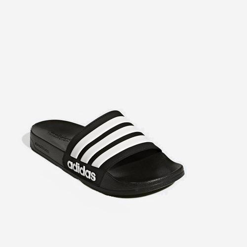 Adidas Adilette Cloudfoam badslipper zwart