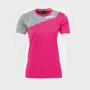 Afbeelding Kempa Core 2.0 shirt dames voorkant roze