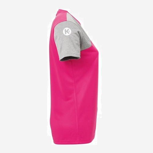 Afbeelding Kempa Core 2.0 shirt dames zijkant rechts roze