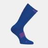 Afbeelding Kempa Logo Socks zijkant kleur electric blauw/roze
