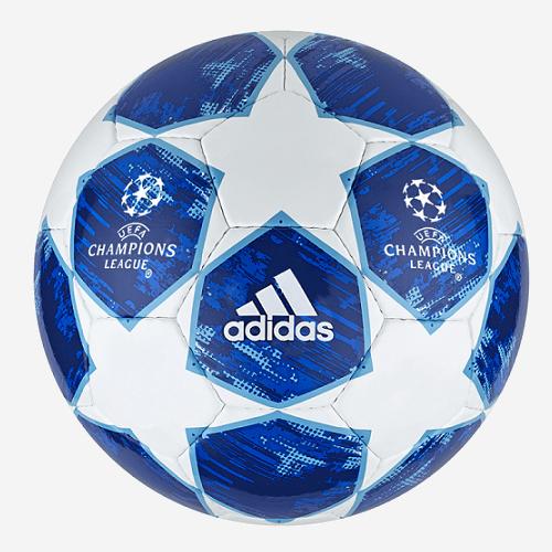 Adidas Finale 18 Spor voetbal blauw wit