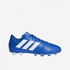 Afbeelding Adidas Nemeziz 18.4FxG junior voetbalschoen blauw