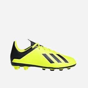 Afbeelding Adidas X 18.4 FxG junior voetbalschoen geel