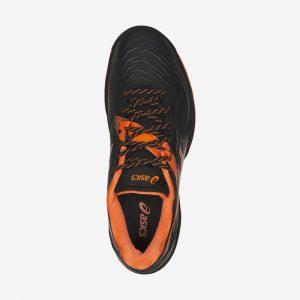 Afbeelding Asics Blast FF handbalschoen zwart oranje