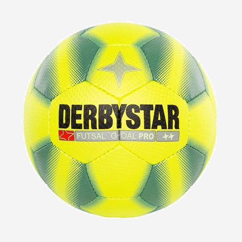 Afbeelding Derbystar Futsal Goal Pro geel groen