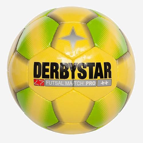 Derbystar Futsal Match pro zaalvoetbal geel groen