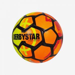 Afbeelding Derbystar Street Soccer Ball geel oranje