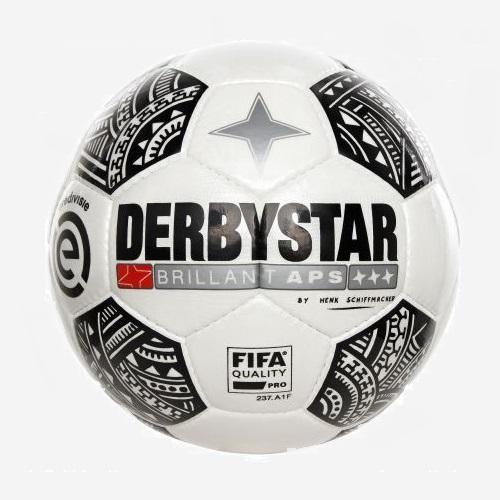Afbeelding Derbystar Eredivisie Brillant 17/18 wit zwart