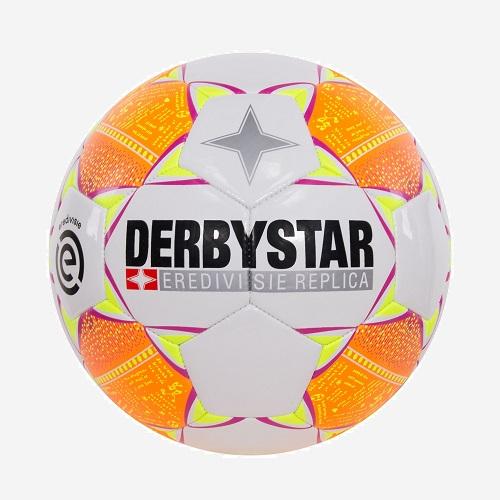 Afbeelding Derbystar Eredevisie Design Replica voetbal wit