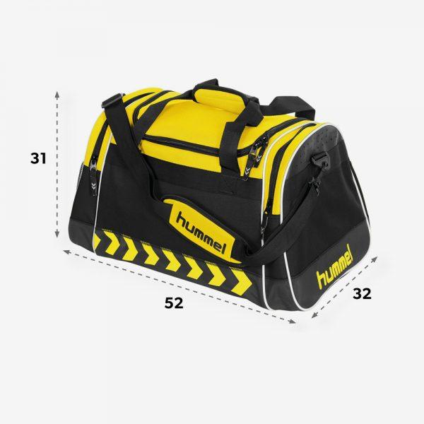 AFbeelding Hummel Milford sporttas geel