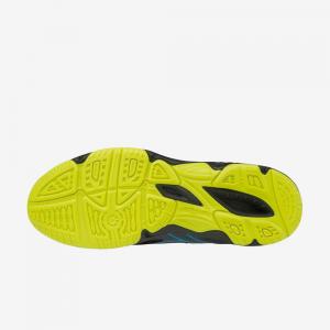 Afbeelding Mizuno Mirage Star 2 junior handbalschoen zwart geel