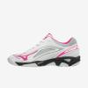 Afbeelding Mizuno Wave Ghost handbalschoen dames wit roze