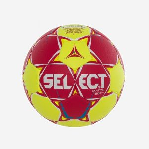 Afbeelding Select Match Soft handbal rood geel