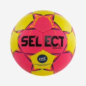 Afbeelding Select Solera handbal geel roze