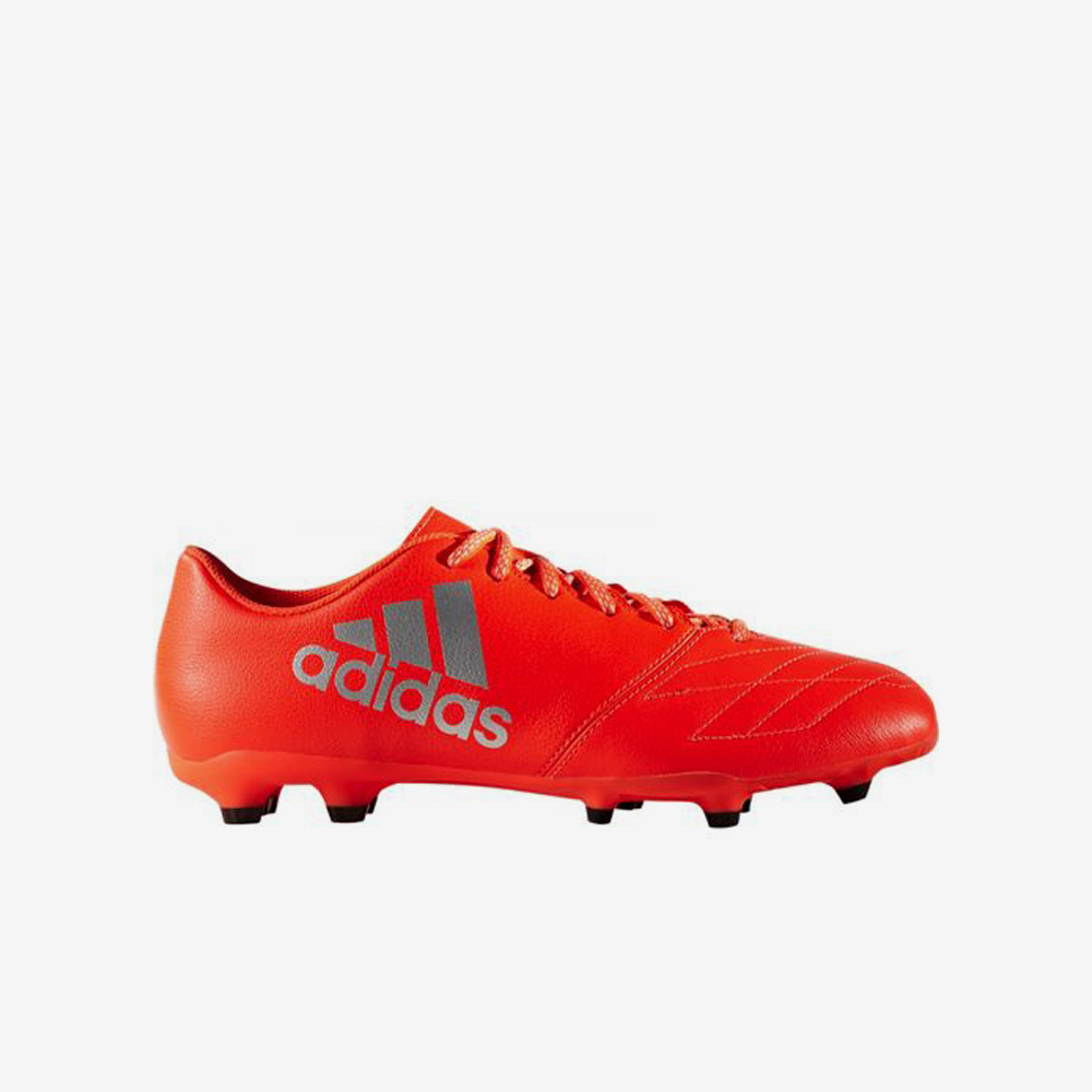 Adidas X 16.3 FG Leather Voetbalschoen Rood