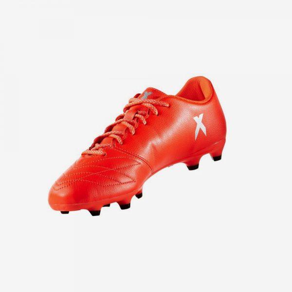 Afbeelding Adidas X 16.3 FG Leren Voetbalschoen rood