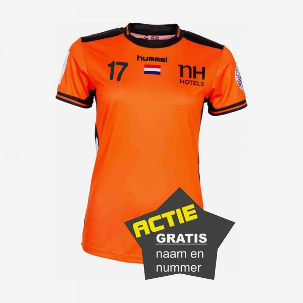 Afbeelding Hummel EK 2018 shirt Nedrlands handbaldames oranje