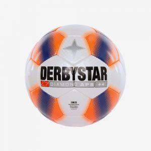Afbeelding Derbystar Diamond voetbal wit oranje
