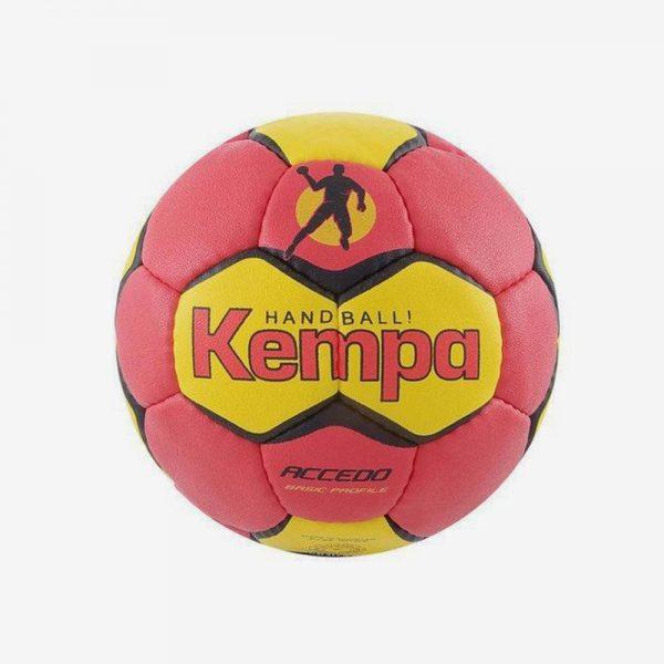 Afbeelding kempa Accedo basic profile handbal rood geel