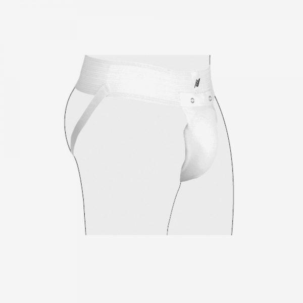 Afbeelding Rucanor Protection supporter en cup wit