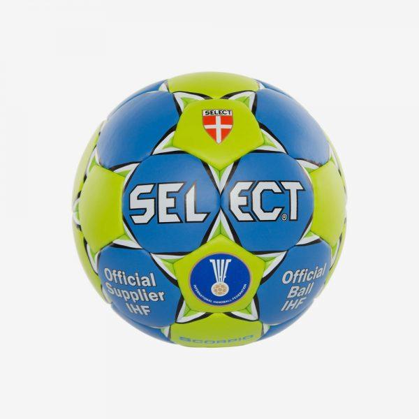 Afbeelding Select Scorpio handbal blauw groen