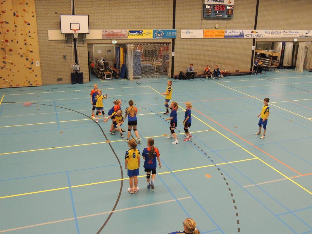 Afbeelding HVA jeugdwedstrijd handbal