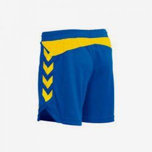 Afbeelding HVA Hummel Burnley short dames blauw