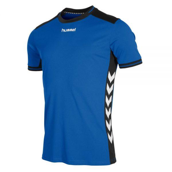 Afbeelding Hummel Lyon shirt uni blauw