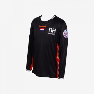 hummel EK 2018 shirt Nederlandse handbaldames lange mouw zwart