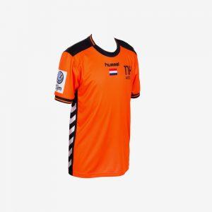 hummel EK 2018 shirt Nederlandse handbaldames oranje